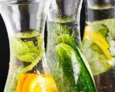 Cucumber & Mint drink
