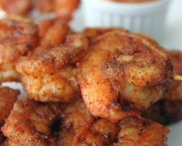 Louisiana Cajun Shrimp with Chipolte Mayonnaise
