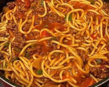 Old School Spaghetti Recipe