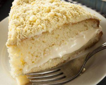 Cream Cheese Lemon Crumb Cake