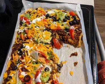Sheet Pan Taco Bake