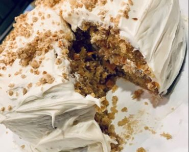 SKYSCRAPER CARROT CAKE